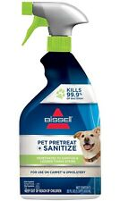 Bissell Sanitize Stain Destroyer Pretreat Pet Plus Odor Remover 22 oz