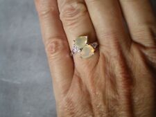 Ethiopian Opal ring, 1.39 carats, size L/M, in 2.63 grams of 925 Sterling Silver