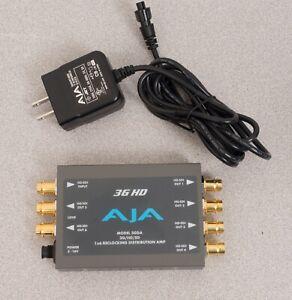 AJA 3GDA 3G/HD/SD 1x6 Reclocking Distribution Amp