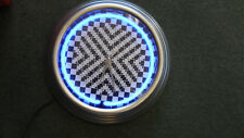 NEON HOUNDSTOOTH CLOCK