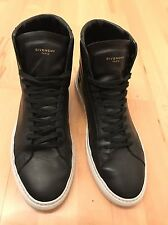 GIVENCHY SNEAKERS HIGH TOP MEN'S SHOES LETHER SCARPE ORIGINAL EU 45 UK11