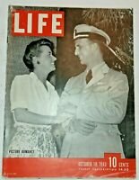October 18, 1943 LIFE Magazine: COKE Ad, 1940s Advertising FREE SHIP Oct 10