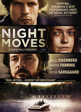 Night Moves (DVD, 2014) Dakota Fanning, radical environmentalists  BRAND NEW