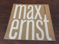 1961 MAX ERNST Museum of Modern Art -Exhibition Catalog DADA