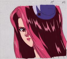 Yu Yu Hakusho Anime Cel Douga Beautiful Demon Nurse Ruka Face Animation Art Toei