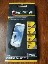 ZAGG InvisibleSHIELD screen protector for Samsung Galaxy S3
