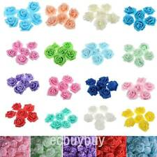400PCS Artificial Foam Rose PE Floral Flowers Head Bridal Bouquet Wedding Decor