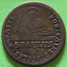 ALLEMAGNE MUNSTER III PFENNIG ST PAULUS 1760