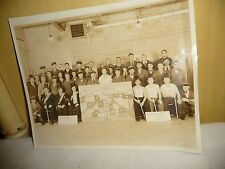 #107F vtg GROUP photo FREIHAFER Remocrats bakery Allentown Pa. photo  8 x 10