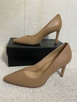 27 Edit Alanna Taupe Nude womens heels Size 8 NIB Free Shipping 💥