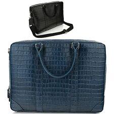 Man Cross Body Bag Man Shoulder Bag Man Business Bag Cow Leather Bag 5089Navy
