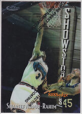 1997-98 FINEST SHOWSTOPPERS SILVER: SHAREEF ABDUR-RAHIM #278 GRIZZLIES ALL-STAR