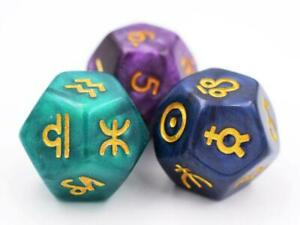 Astro Dice-Divination Dice Astrology dice Astrodice For Astrology Readings Dice