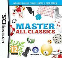 Nintendo DS Spiel - Master All Classics UK mit OVP