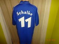 "FC Schalke 04 Adidas Matchworn Trikot 2001/02 ""Victoria"" + Nr.11 Delura Gr.XL"