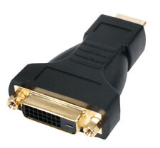 HDMI to DVI Female Adapter / Converter HDMI Male to DVI Female Gold Plated Video