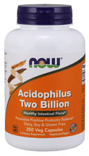 Acidophilus Two Billion 250 Veg Capsules by NOW Foods *Free Shipping*