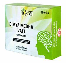 5 X Patanjali Divya Medha Vati120 Tablets each, (Pack of 5) Deliver in 3-5 Days