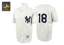 NEW DON LARSEN MITCHELL & NESS NEW YORK YANKEES JERSEY 100% AUTHENTIC 48! RARE!