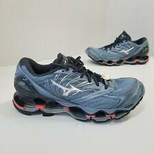Mizuno Wave Prophecy 8 Women's Running Shoes Size 8 EUC 38.5 Blue Orange