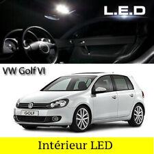 Kit ampoules à LED pour l'éclairage intérieur habitacle blanc Volkswagen Golf  6