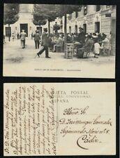 Tarjeta Postal Sanlucar de Barrameda (Cádiz). AYUNTAMIENTO. Muy Animada.