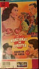 Las MANZANAS DE DOROTEA. AGUSTIN DE ANDA MARIA MARQUEZ.  RARE SPANISH VHS VIDEO