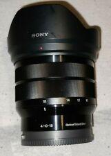 SONY SEL1018 E-mount F4 OSS