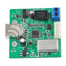 Ljm USB to SPDIF Coaxial I2S Processor Converter SA9023 Supt 24bit 96K Sampling