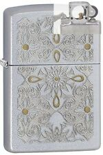 Zippo 28457 filigree Lighter with PIPE INSERT PL