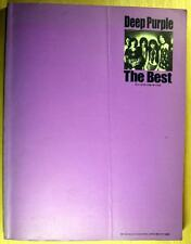 DEEP PURPLE THE BEST JAPAN BAND SCORE GUITAR TAB