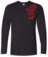 Evolution of Death Note Long Sleeve Tee Tshirt 2xl Sport Grey (black Print)