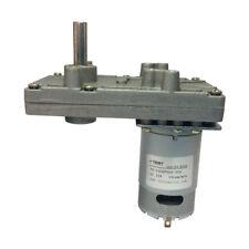 Dc Gear Box Electric Motor Gear Mptor Low Speed High Torque 35kgcm Reversible