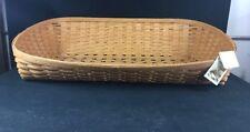 Longaberger 2015 Large Pet Dog Bed Basket Warm Brown