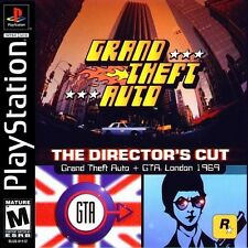 Grand Theft Auto Director's Cut - PS1 PS2 Playstation