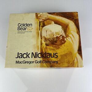 12 Vintage Golden Bear Jack Nicklaus golf balls MacGregor Golf Company UNUSED