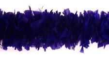 "2 Yard Feather TURKEY BOA - PURPLE 6-8"" Feathers (Halloween/Costume/Bridal)"
