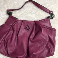 Simply Vera Vera Wang Pink Leather Women's Purse Handbag