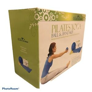 Pilates Ball & Band Kit With Instructional DVD - Preowned