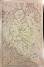 Marvel Comics IRON FIST Original Art by Greg Land DAREDEVIL LUKE CAGE DEFENDERS