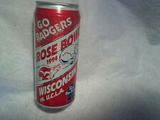 1994 Rose Bowl Wisconsin Badgers vs Ucla Bruins Empty Beer Can,Pabst Blue Ribbon 00004000