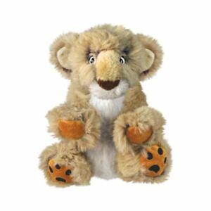 KONG Comfort Kiddos Lion Dog Toy Tan Asst Size   Free Shipping