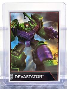 Transformers Combiner Wars Devastator Collector Card
