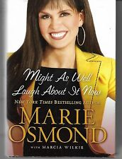 Might As Well Laugh About It Now by Marie Osmond Large Print Book