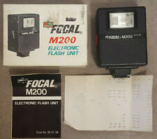 Kmart Focal M-200 Electronic Flash Unit Made In Hong Kong