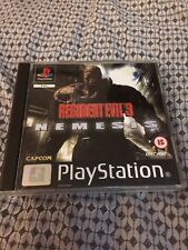 Resident Evil 3 Nemesis Ps1 PlayStation 1