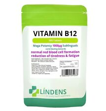 Vitamin B12 1000mcg, 365 Sublingual Tabs