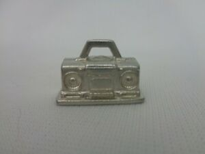 Stereo Music Scene It? Token Metal Game Part Replacement Piece Mover Pawn Token