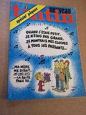 """MAGAZINE """"NOUVEAU TINTIN, no 82"""" (1977)"""