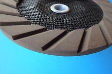 "5"" ceramic cup wheel 50#: mildly grind solid floor concrete edge, corner prep"
